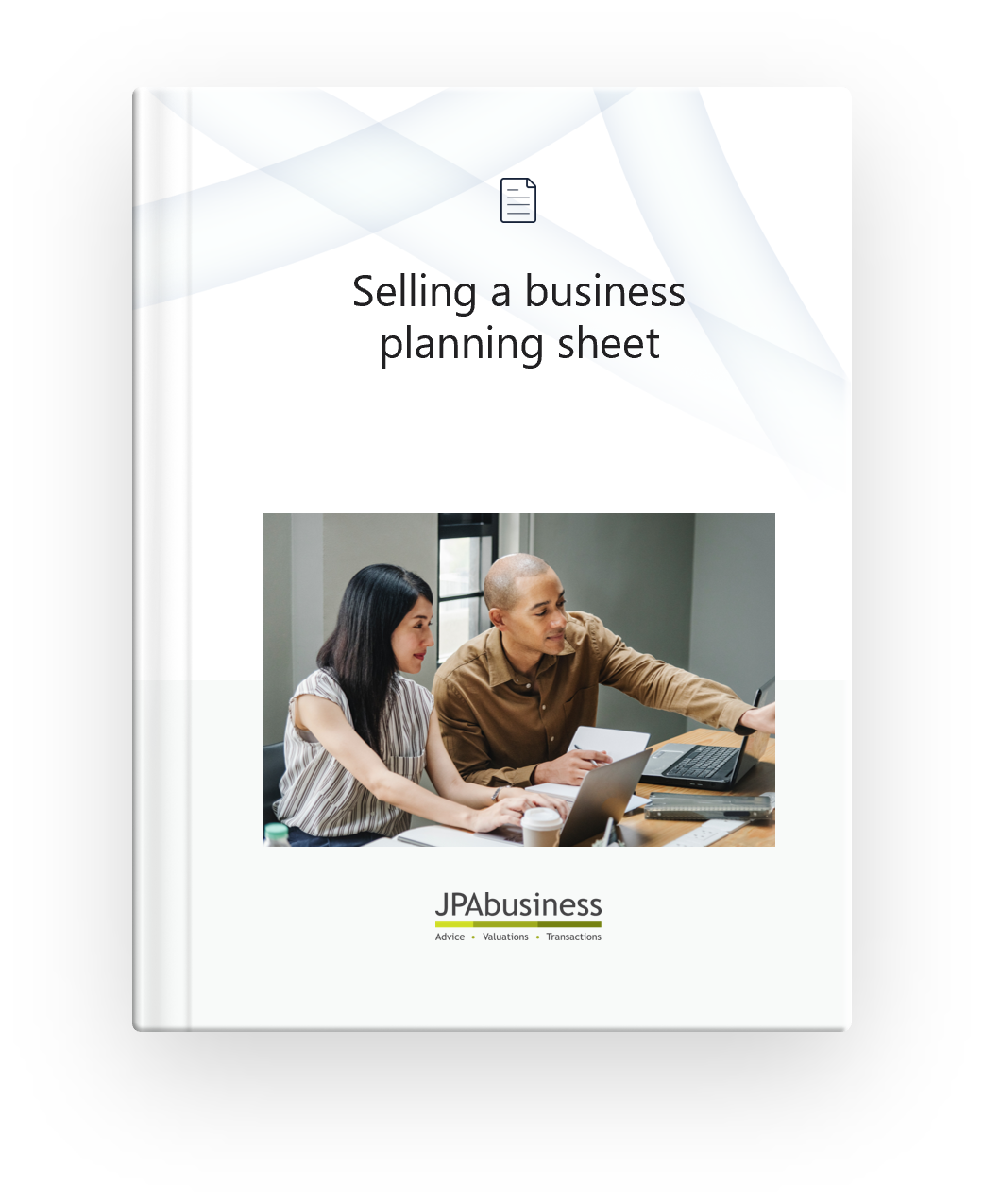 Selling a business planning sheet cover.png