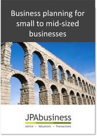Business planning for small to mid-sized businesses ebook cover