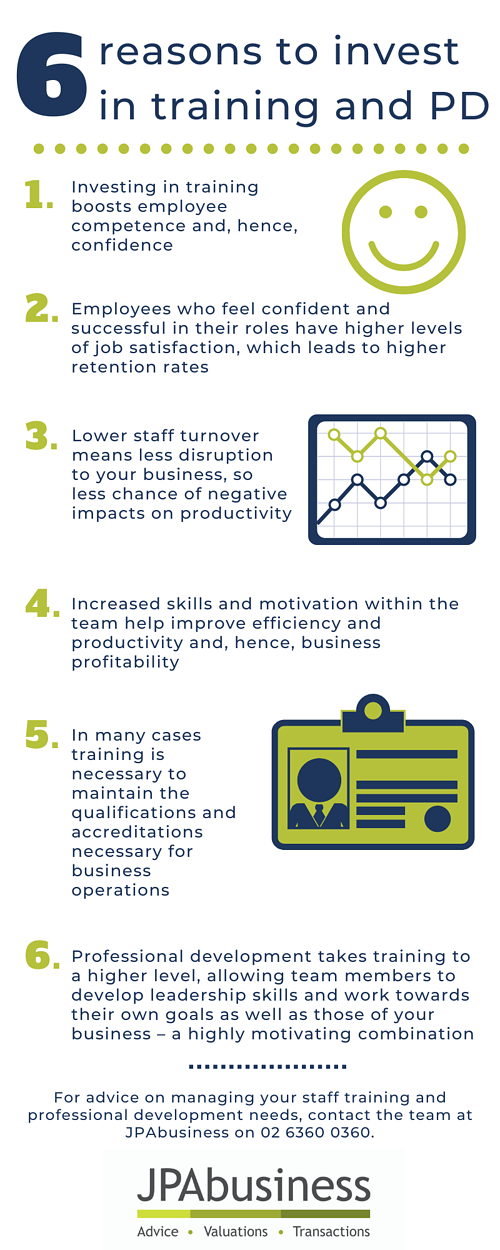 6 reasons to invest in training and PD