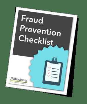 Fraud prevention checklist cover
